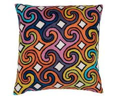45 x 45 cm de lana Zaida/algodón Seaspray cojín, Multi-color