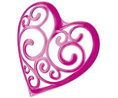 Koziol SISSI - Soporte para joyas con forma de corazón, color rosa