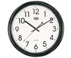 Trevi OM 3308 - Reloj de pared (AA, Negro, Color blanco, 300 mm)