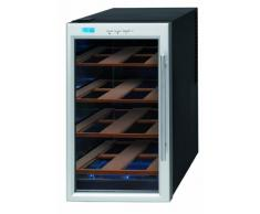 Krups JC 101810 - Nevera para vinos con estantes de madera, color acero y negro