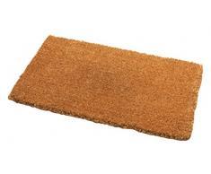 Addis Malton - Felpudo muy absorbente, 100% fibra de coco natural, grande, 75 x 45 cm