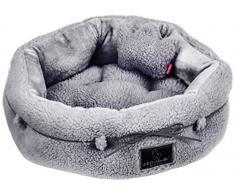 pinkaholic nueva york Chelsea cama perro cama, Gris