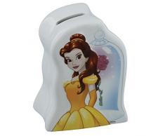 Enesco Enchanting Disney – El ajuste perfecto, Cenicienta dinero Banco, cerámica, Varios Colores, 10 x 7 x 13 cm
