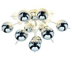 Lámpara de techo Näve - Bola de cristal