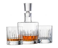 Schott Zwiesel 120145 Basic Bar Motion Whisky Compuesto por 1 – Juego de Jarra y 2 Double Old Fashioned Vasos, Cristal, Transparente