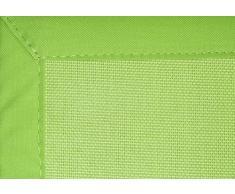 Home Life Alfombra con diseño PVC, Poliéster, Verde, 120 x 180 cm