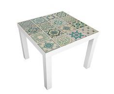 Walplus Verde Azulejos Adhesivo Decorativo para Pared, Vinilo, 7,6Â x 63,5Â x 5Â cm