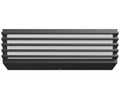 Philips myGarden Pitchfork - Aplique LED, iluminación exterior, LED integrado, 4.5W, luz blanca fría, aluminio, color antracita, diseñado para jardines y patios