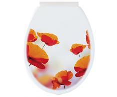 Gelco Design asiento para inodoro Poppy, Polypropylene, Multi, 45 x 37 x 3 cm