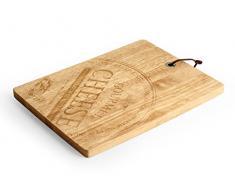 Desconocido H & H Wood Tabla para queso, Madera, beige