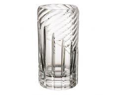 Cristal de Bohemia Genova Florero, Cristal, 9x9x22 cm