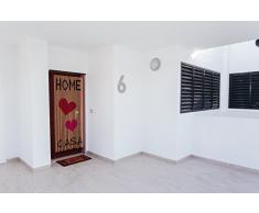 Catral 71060025 Cortina Home L65, Madera, Rojo y Rosa, 200 x 90 cm