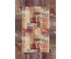 Vilber New Classic Alfombra, Vinilo, Rojo, 100x153x0.2cm