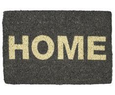 Entryways – Felpudo Home Felpudo fibra de coco tejida a mano), color gris
