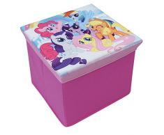 Fun House 712527 My Little Pony Taburete de cartón para almacenaje para niños mural/30 x 30 x 30 cm