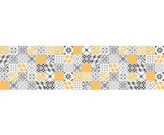 VINILIKO, Alfombra de vinilo, Amarillo, 80x300 cm