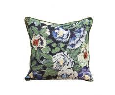 Belssia Cojín Floral Evelyn Terciopelo Multicolor 45x45x17 cm