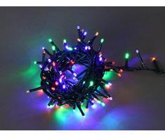 E = m6 5eex927mc guirnalda con 400 bombillas LED plástico/PVC, multicolor