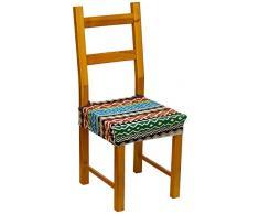 Eysa Kilim - Funda de silla elástica, color azul