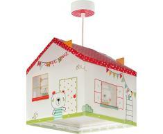 Dalber My Sweet Home Lámpara infantil, Multicolor