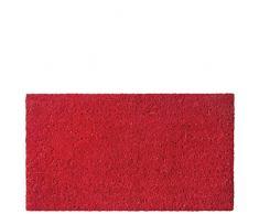 Laroom Felpudo, Fibra de Coco y PVC Base, Rojo