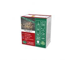 Konstsmide 6387-800 Guirnalda con luz LED, Negro, 100 Leds