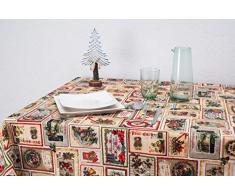 Boheme Mantel Navidad Nadala Allover 100% Algodón, Beige 160 X 250