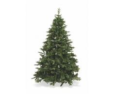 Galileo Casa courmayeur árbol de Navidad, PVC, Color Verde, 120 x 120 x 180 cm
