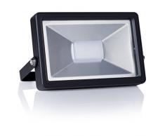 Smartwares Foco LED de Exterior, 30 W, Negro