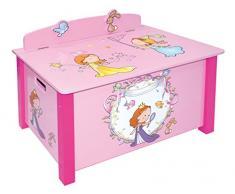 Liberty House Juguetes princesa caja de juguetes, madera, multicolor, large