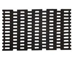Dandy by William Armes, tapete de Entrada para Exteriores, Resistente, de Caucho, 75 x 45 cm, Color Negro