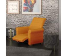 PETTI Artigiani Italiani Oro, Relax, Funda Sillon Elastica, 100% Made in Italy, 80 a 100 cm