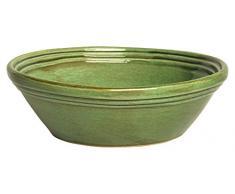 Colì Maioliche e Terrecotte dal 1650 Fieno - ensaladera, de terracota, verde, 32 x 32 x 12 cm
