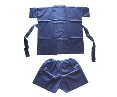 Garcia de Pou 10Â Unidad Sauna suit-short Kimono, azul, 30Â x 30Â x 30Â cm
