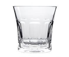 Cristal Sévres Segovie Set de Vasos Whisky, Cristal, 10x10x10 cm, 2 Unidades