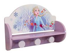 Fun House 713204 Disney Frozen - Estantería para Perchero Infantil, Color Morado