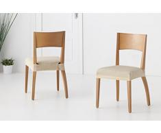 Martina Home Tunez - Funda para Silla, Tela, Funda silla asiento, Electrico, 24 x 30 x 6 cm, 2 Unidades