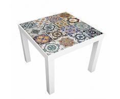 Walplus wm10008mediterráneo Azulejos Adhesivo Decorativo para Pared, Vinilo, 7,6x 63,5x 2cm