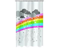 Spirella, Multicolor colección ARC, Cortina de Ducha Textil, 100% Polyester, 180 X 200 X Cm
