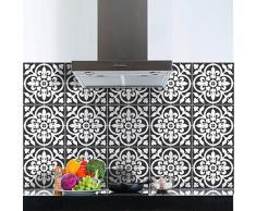 Ambiance-Live 60Pegatinas Adhesivos carrelages | Adhesivo Adhesivo Azulejos-Mosaico Azulejos de Pared de baño y Cocina | Azulejos Adhesiva-Nuance de Gris Classiques-10x 10cm-60Piezas