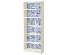 WALPLUS océano Azul Azulejos Adhesivo Decorativo para Pared, Vinilo, Multicolor, 63,5x 63,5x 5cm