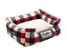 Hunter Newport perro sofá, 60 x 45 cm, rojo/negro