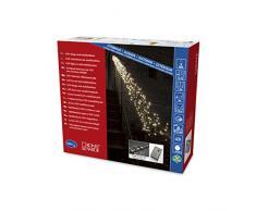 Konstsmide 3863 – 100 – Guirnalda de micro LED Luz Cadena Cluster, plástico, Negro