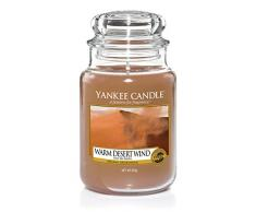 Yankee Candle Ltd cálido desierto viento tarro de cristal, Naranja, 10,7 x 10,7 x 16,8 cm