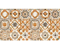 Vilber Gran Chef Kollar Alfombra, Vinilo y PVC, Naranja, 40x78x0.2 cm