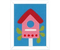 Vervaco - Kit para Tapiz: Casa para pájaros