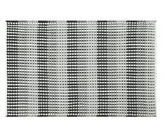 Spirella, Negro colección Cone, Alfombrilla de Ducha 50 x 80,75% Polyester, 25% Acrílico, 80 X 50 X Cm