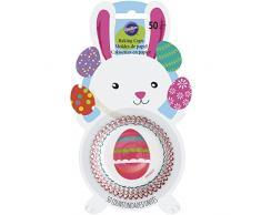 Wilton huevo de Pascua moldes para cupcakes, multicolor, Pack de 50