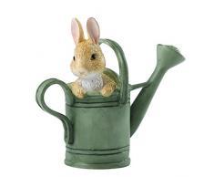 Beatrix Potter Peter en regadera Mini Figura Decorativa