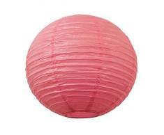 Matissa - Linterna de Papel (30 cm, 6 Unidades), Color Rosa